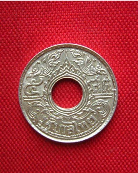 เหรียญ 5 สตางค์ เนื้อเงิน ลายกนก ปี 2484 สวยครับ พระ ...