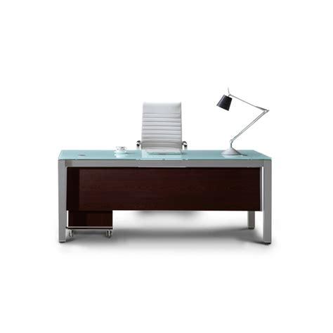 modern executive office desk corp designs sling series glass top executive desks cd