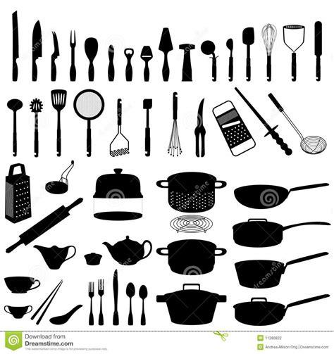 kitchen accessories names utens 237 lios da cozinha ilustra 231 227 o do vetor ilustra 231 227 o de 2138