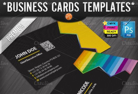 Zigzag Quick Response Business Cards Free Blank Business Card Template Illustrator High Quality Holders Most Popular Font Source File Vector Design Templates Beauty Frame Display