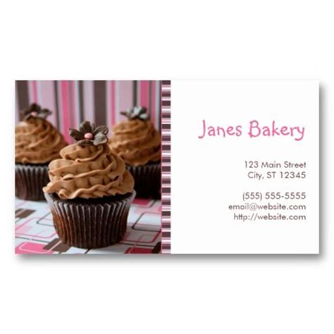 ideas  cupcake shaped business cards