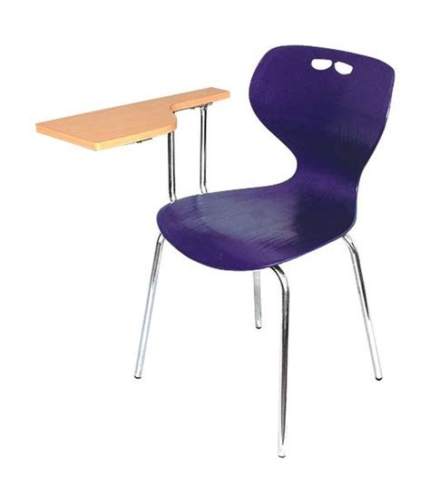 regent study chair in purple with writing pad buy regent
