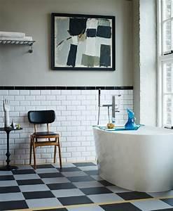 Carrelage Salle De Bain Bricomarché : salle de bain r tro carrelage meubles et d co en 55 photos ~ Melissatoandfro.com Idées de Décoration