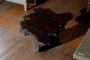 american vintage cypress wood coffee table for sale at 1stdibs With cypress wood coffee table