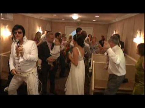 dean  hayleys elvis wedding   graceland chapel las