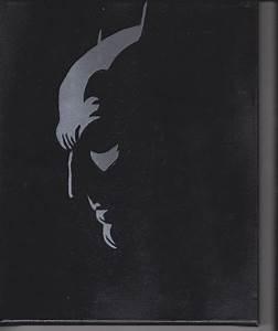 8x10 Batman Pop Art Painting by: ChrisEcto Wall Art Comic