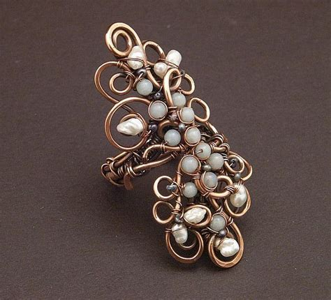 17 Inspiring Wire Jewelry Designs Mostbeautifulthings