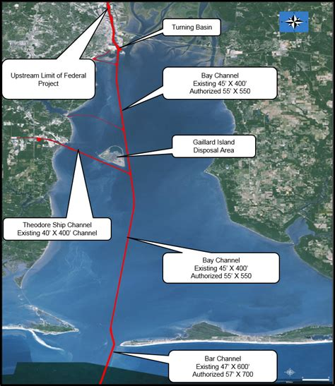 corps releases plan  mobile harbor deepening