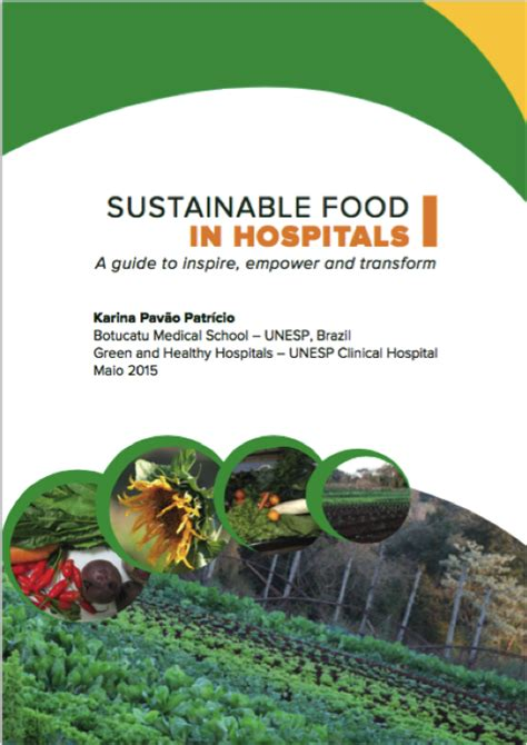 launch  sustainable food  hospitals  guide