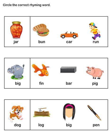 esl efl worksheets kindergarten worksheets rhyme time
