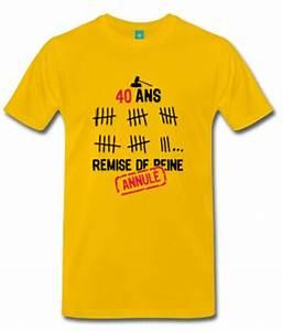 T Shirt 40 Ans : t shirt homme humour anniversaire zoom tee shirt kit 30 ans homme age trentaine trentenaire humorist ~ Farleysfitness.com Idées de Décoration
