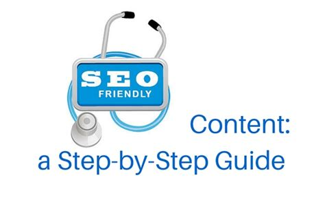 Seo Step By Step by Seo Friendly Content A Step By Step Guide Cooler Insights