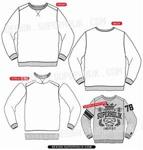 fashion design templates vector illustrations and clip With sweatshirt template illustrator