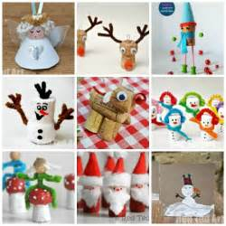 12 christmas cork crafts getting festive red ted art s blog