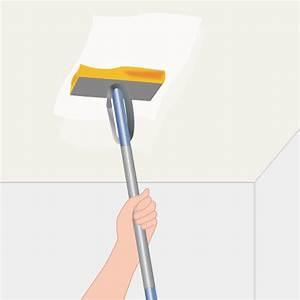nettoyer un plafond jauni plafond With nettoyer plafond avant peinture