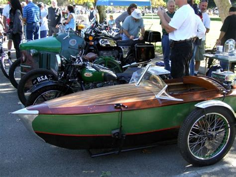 Motorcycle Boat by Bsa And Boat Sidecar Three Wheels On My Wagon