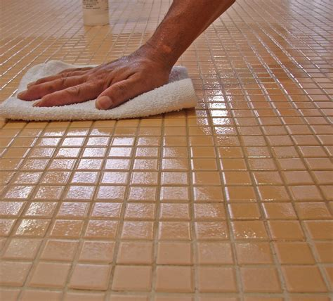 How To Polish Ceramic TileWithout Wax   Written in Stone