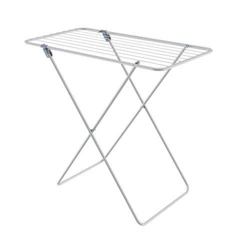 honey   commercial chrome accordion drying rack dry