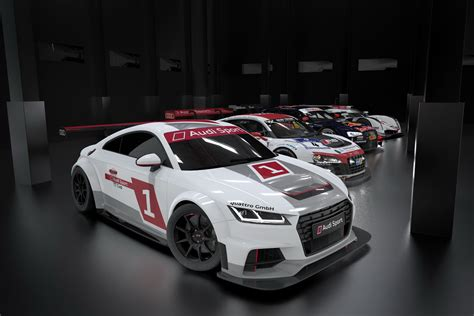 audi race car audi tt race car looks sweet w video carscoops