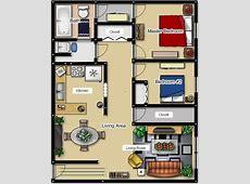 2 Bedroom Apartment Layouts 2 Bedroom Apartment Floor