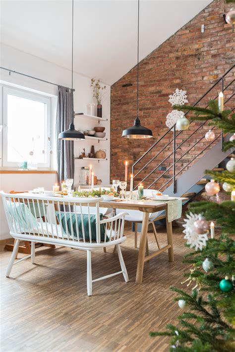 Tischdeko Weihnachten 2017 by Meine Tischdeko F 252 R Weihnachten In Mintgr 252 N Und Gold