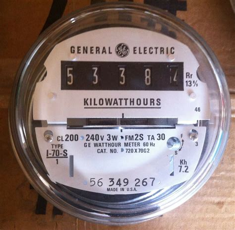 Electric Watthour Meter Kwh Type