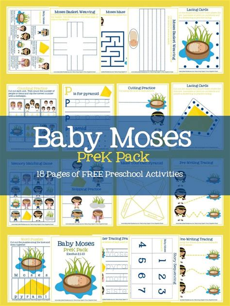 best 25 baby moses ideas on baby moses crafts 600 | 3df3c0059e182cf794ce10bc2606f929 preschool bible bible activities