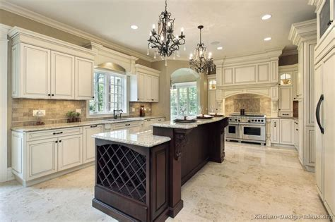 custom kitchen islands that look like furniture pictures of kitchens traditional two tone kitchen