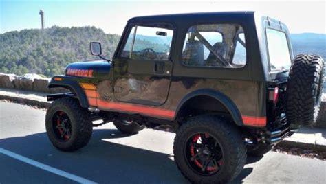 sell   jeep cj renegade lifted custom wheels lots