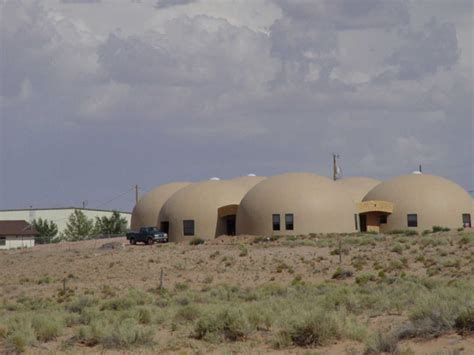 navajo nation housing project monolithic dome institute