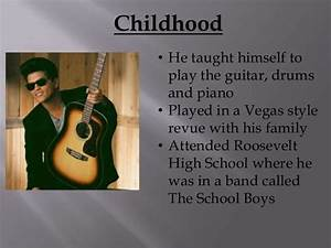 Bruno Mars Presentation