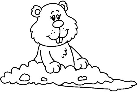 gopher clipart black and white black and white groundhog clipart