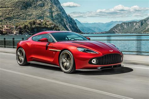 aston martin aston martin vanquish zagato production car revealed
