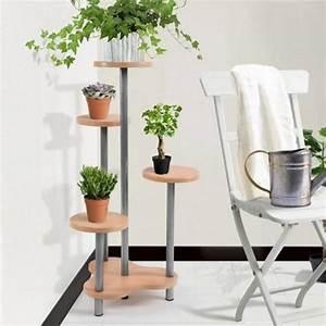 porte etagere plantespour maison jardin achat vente With meuble plantes d interieur