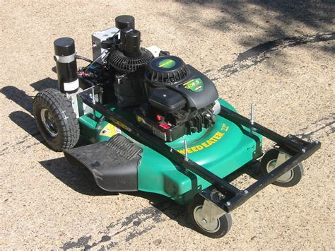 remote controlled lawnmower all
