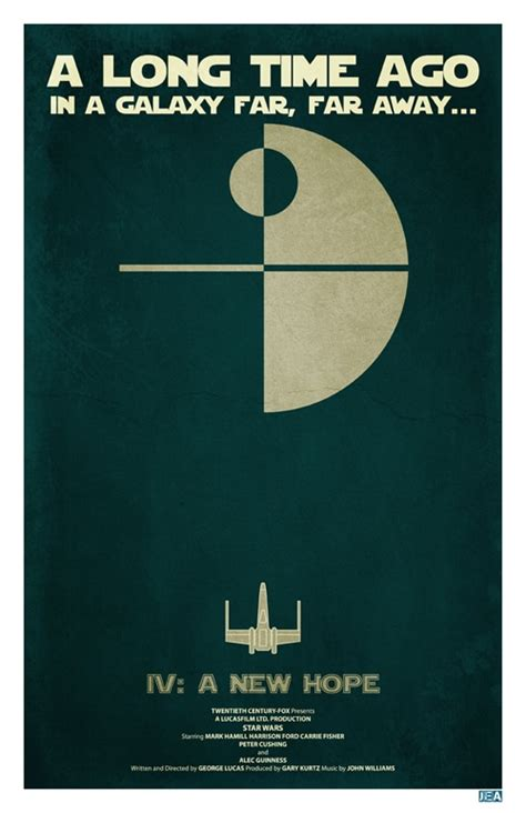 star wars posters  dont   minimalistic