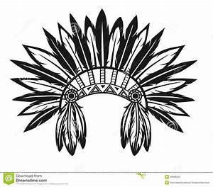 Indian Chief Headdress Clipart - image #44