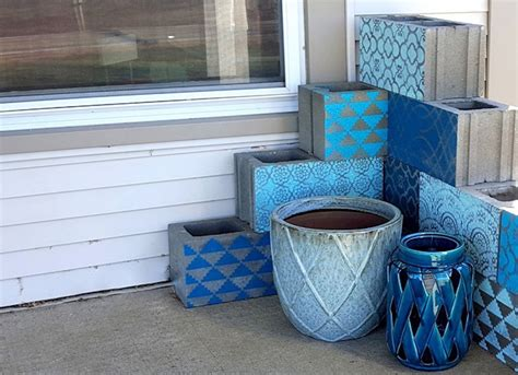 cinder block furniture  easy diy ideas bob vila