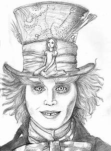 Mad Hatter and Alice by Empsuli on DeviantArt