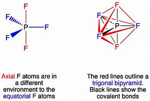 PF5 has a 90 and 120 degree bond angles. Does it also have ...