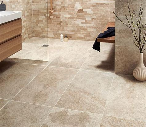 Large Tiles For Bathroom by Large Format Beige Tiles From Topps Tiles Design Garden