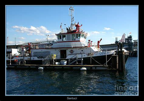 Boat Fire Seattle by Fire Boat Seattle Washington By Robert Santuci