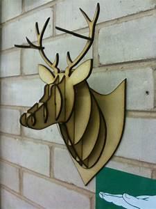 mdf acrylic cardboard deer head taxidermy With free cardboard taxidermy templates