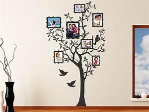 Baum An Wand Malen : wandtattoo baum f r fotos mit fotorahmen wandtattoo de ~ Frokenaadalensverden.com Haus und Dekorationen