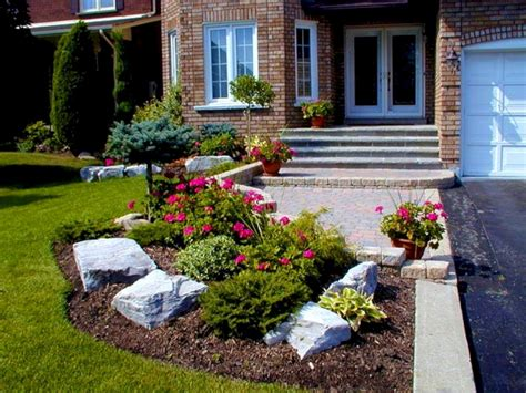 simple front yard landscaping ideas  simple front yard