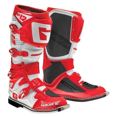 motorcycle gear boots gaerne sg 12 boots revzilla
