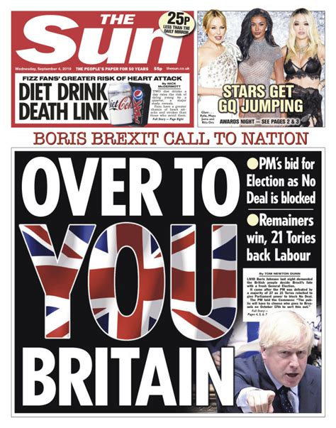 'Humiliation for Johnson': UK front pages react to last ...