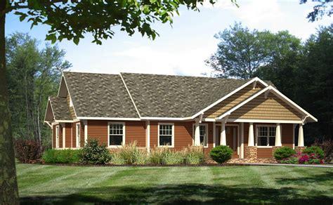 Craftsman Ranch Style Modular Homes Craftsman Home Plans