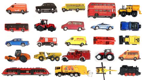 Learn Names And Sounds Of Different Vehicles From This