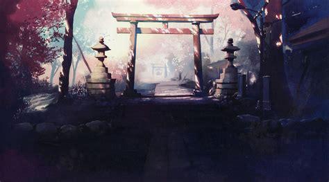 5 Cm Per Second Wallpaper Japanese Memories Shrine Makoto Shinkai 5 Centimeters Per Second Anime Japanese Architecture
